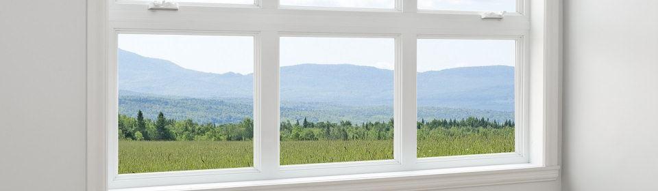 Kozijnen in groot raam